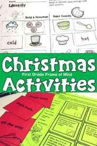 Fun Christmas Activities for Reading Fluency and Vocabulary!