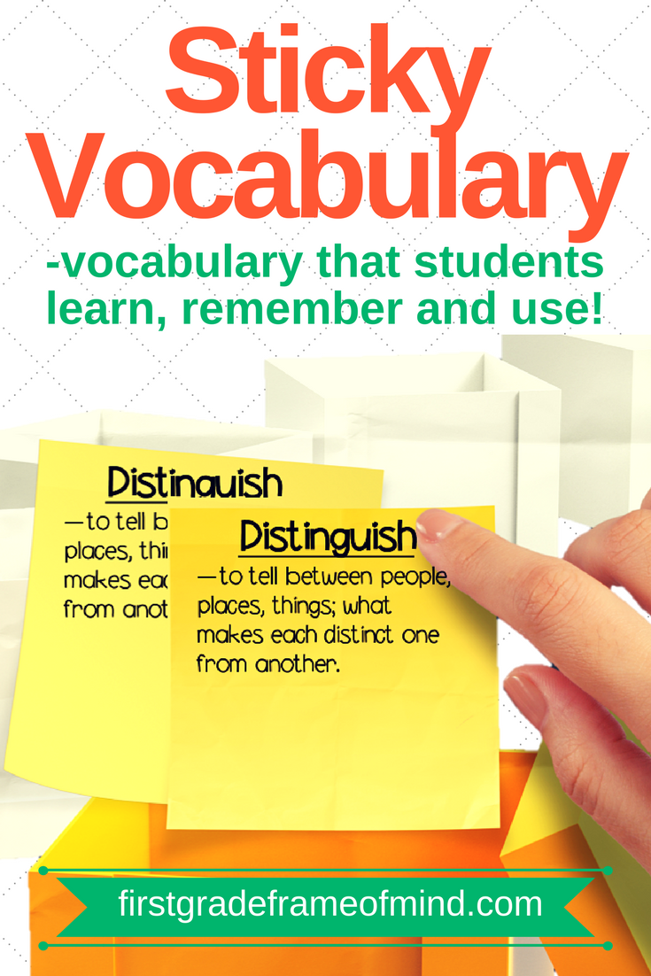 Primary students and even preschoolers can learn to pronounce challenging vocabulary. Our job is to teach the meaning of those words in a way that sticks.